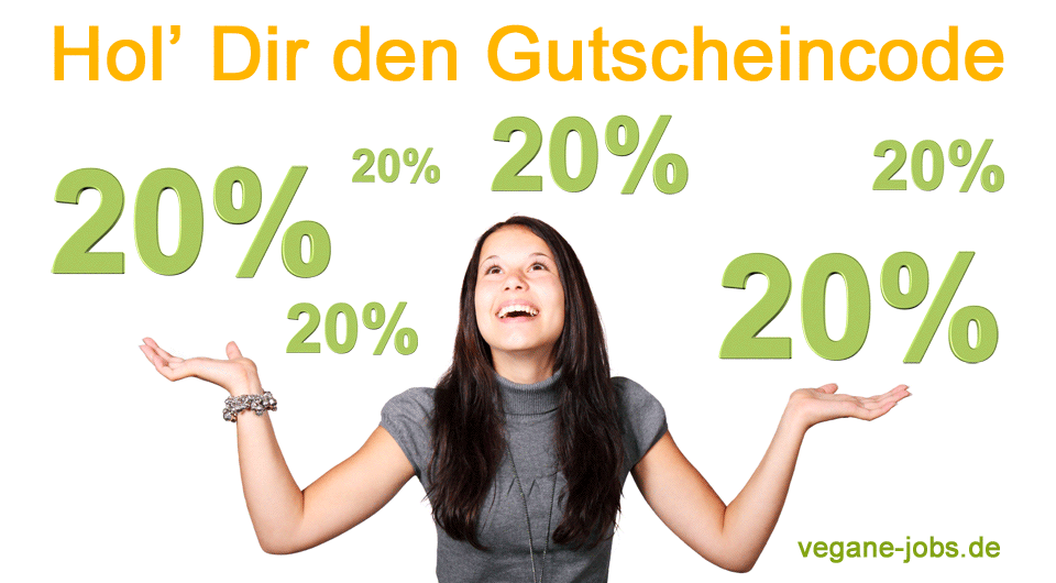 Gutscheincode - www.vegane-jobs.de